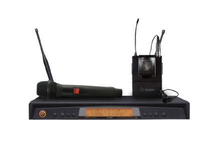 WR-102双通道无线麦克风